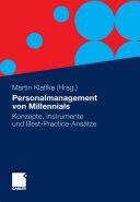 Personalmanagement von Millennials PDF