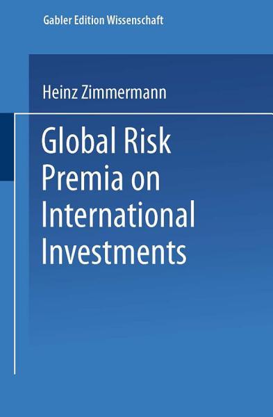 Global Risk Premia on International Investments PDF