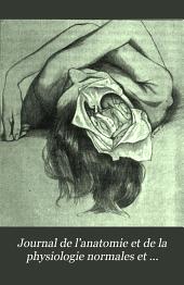 Journal de l'anatomie et de la physiologie normales et pathologiques de l'homme et des animaux: Volume40