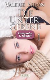 Die Untergebene - Erotischer Roman: 1. Kapitel - Leseprobe