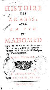 Histoire des Arabes: avec la vie de Mahomed, Volume2