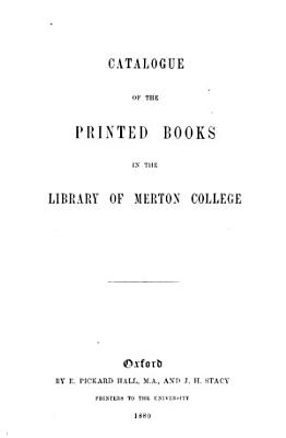 Catalogue of the printed books   With  Addenda ii   iv   PDF