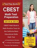 CBEST Math Test Preparation 2018   2019