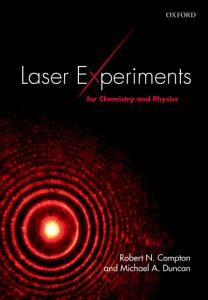 Laser Experiments for Chemistry and Physics PDF