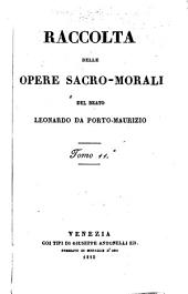 Raccolta delle (sue) opere sacro-morali: Volume 6