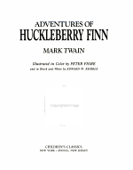 The Adventures of Huckleberry Finn PDF