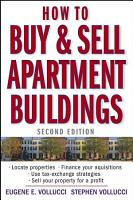 How to Buy and Sell Apartment Buildings PDF