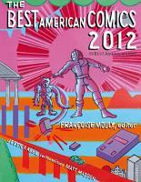 The Best American Comics 2012 PDF