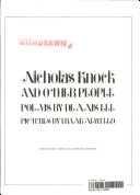 Nicholas Knock and Other People PDF