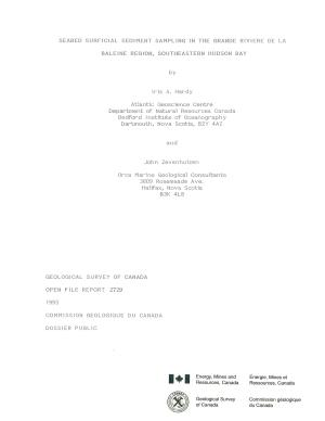 Geological Survey of Canada  Open File 2729