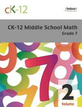 CK-12 Middle School Math Grade 7, Volume 2 Of 2