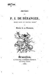 Œuvres de P. J. de Béranger, mises dans un nouvel ordre et ornées de 40 gravures: Volume1