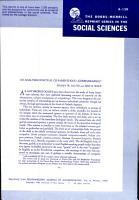 The Bobbs Merrill Reprint Series Sciences PDF