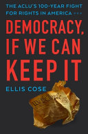 Our Democracy  If We Can Keep It Book