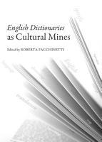 English Dictionaries as Cultural Mines PDF
