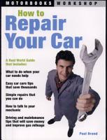 How to Repair Your Car PDF