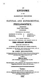 An Epitome of the Elementary Principles of Natural and Experimental Philosophy