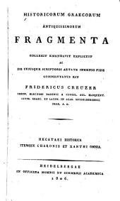 Historicorum Graecorum antiquissimorum fragmenta
