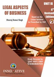 Legal Aspect of Business for UGC NET JRF Commerce PDF