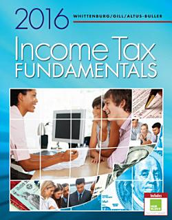 Income Tax Fundamentals 2016 Book