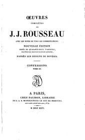 Oeuvres complètes de J.J. Rousseau: Volume17