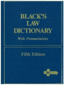 Black s Law Dictionary Definitions of the Terms and Phrases of American and English Jurisprudence  Ancient and Modern PDF