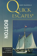 Quick Escapes Boston PDF