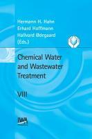 Chemical Water and Wastewater Treatment PDF