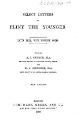 Select Letters of Pliny the Younger