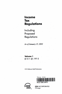 Income tax regulations PDF