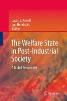 The Welfare State in Post Industrial Society PDF
