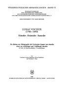 V  lkerkundliche Abhandlungen PDF