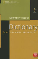 Newbury House Dictionary Plus Grammar Reference