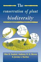 The Conservation of Plant Biodiversity PDF