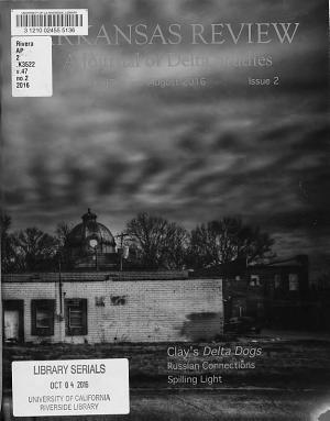 Arkansas Review PDF