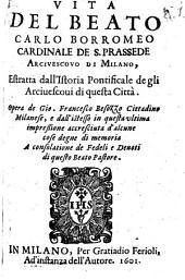 Vita del Beato Carlo Borromeo Card