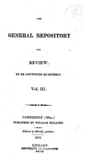 The General Repository and Review: Volume 3