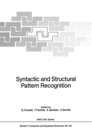 Syntactic and Structural Pattern Recognition PDF