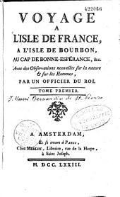 Voyage à l'Isle de France,...: Volume1