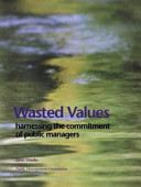 Wasted Values Book