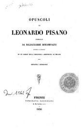 Opuscoli di Leonardo Pisano