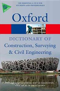 A Dictionary of Construction  Surveying  and Civil Engineering PDF