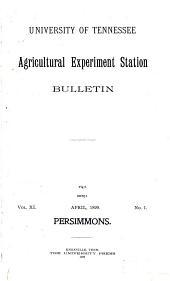 Persimmons: Volume 43
