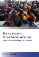 The Handbook of Crisis Communication PDF