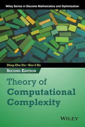 Theory of Computational Complexity: Edition 2