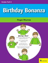 Birthday Bonanza: Finger Rhymes