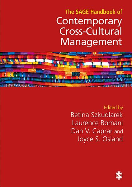 The SAGE Handbook of Contemporary Cross Cultural Management PDF