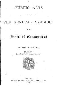 Public Acts Passed by the General Assembly PDF