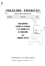 Folklore Americas