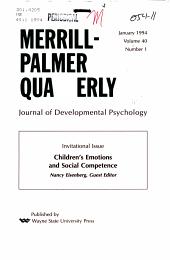 Merrill Palmer Quarterly PDF